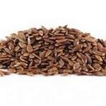 Pour votre santé, saupoudrez vos plats de graines de lin .